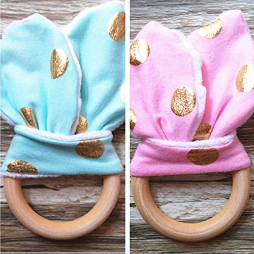 bazaar-wooden-teething-ring-baby-teether-training-chew-massager-with-crinkle-bunny-ears