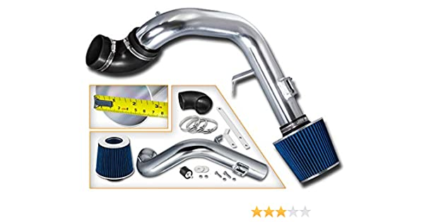 Rtunes Racing Cold Air Intake Kit Filter Combo BLUE For 02-06 Nissan Altima 2.5L
