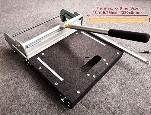 MantisTol 13-inch Pro LVT/VCT/LVP/PVC/Vinyl Tile Cutter LVT-330, Better than 12-In Vinyl Tile Cutter