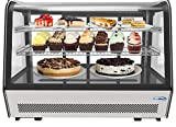 KoolMore 35' Commercial Countertop Refrigerator Display Case Merchandiser with LED Lighting - 5.6 cu. ft
