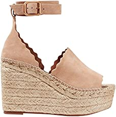 ee0b629d91b Real vs. Steal - Céline Crisscross Platform Wedge Espadrilles