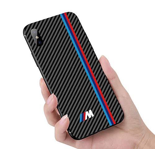 more photos e1607 7c32e Amazon.com: Carbon Fiber Case for iPhone 7,X,7 Plus M Sports, AMG ...