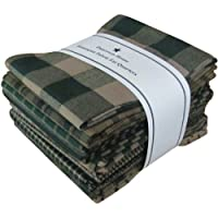 Dunroven House Homespun 12-Piece Fat Quarters, 18 by 21-Inch, Green