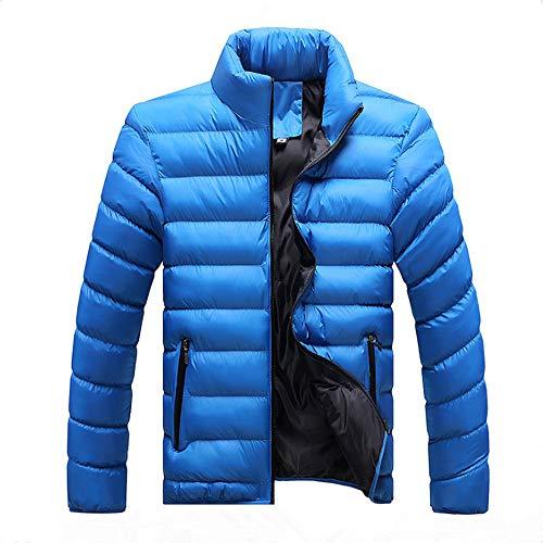 Coat Bleu Ciel Wenyujh' Blouson Parka Jacket Hommes Épaise Veste Chaude Hiver Longues Doudoune Manteau Manches q7gw6qOr