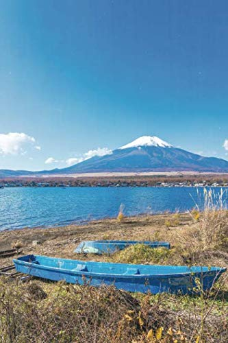 Notebear: Beautiful Landscape Of Mountain Fuji Around Yamanakako Lake Journal (Travel Notebook & Diary with Alternate Blank & Lined Pages)
