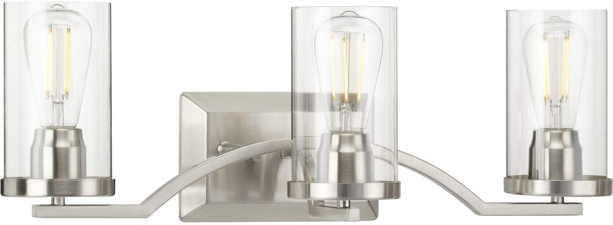 Progress Lighting P300258-009 Lassiter Bath & Vanity, Nickel