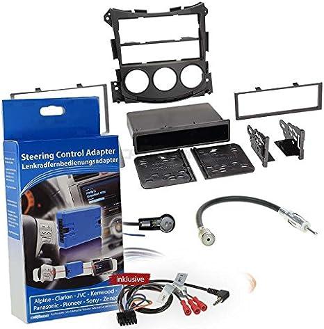 Nissan 370z 09 2 Din Car Radio Installation Kit With Elektronik