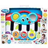 Playgro Piano Kick Pad with Music and Lights, From 0 Months, Multicoloured, 40196