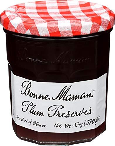 Bonne Maman Plum Preserves, 13-Ounce Jars (Pack of 6)