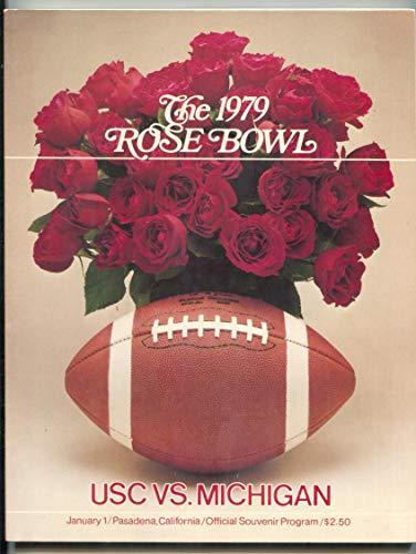 Rose Bowl USC vs. Michigan Football Program January 1 ()