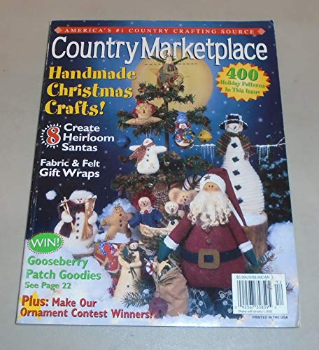 COUNTRY MARKETPLACE Magazine November/December 2001 Volume 11 Number 6 (America