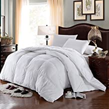 Twin/Twin XL Baffle Box Hungarian White Down Alternative Comforter 68 wide x 90 inches long filled with 55 ounces of fill.