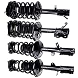 SCITOO Complete Strut Coil Spring Assembly Replacement Struts Shocks Fit for 1998-2002 Chevrolet Prizm - 1993-2002 Toyota Corolla (Front and Rear Pair)