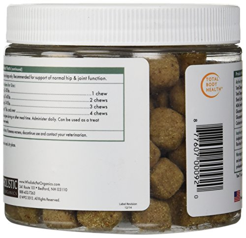 Wholistic Pet Organics 120 Count Run Free Soft Chews Supplement by Wholistic Pet Organics (Image #4)