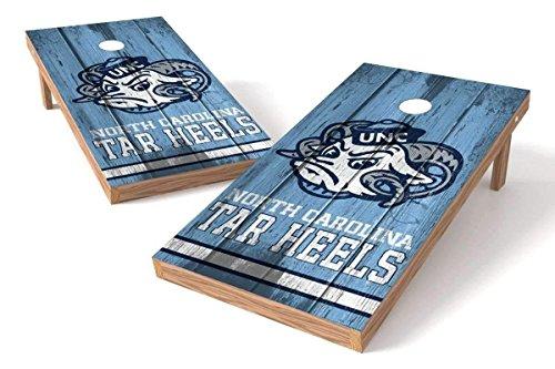 PROLINE NCAA College 2' x 4' North Carolina Tar Heels Cornhole Board Set - Vintage