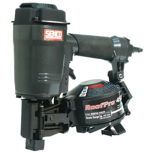 (Factory-Reconditioned Senco RoofPro 450 1-3/4-Inch Roofing Coil Nailer)