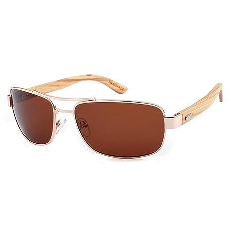 Unisex Superlight gafas de sol polarizadas, Marco de Metal ...