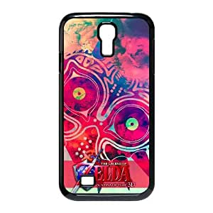 Generic for Samsung Galaxy S4 9500 Cell Phone Case Black Majora's Mask Custom HHGKAOJFD3519