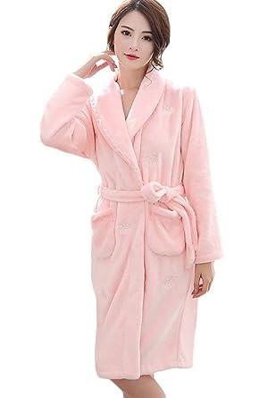 Mujer Camisones Otoño Invierno Pijama Elegantes Suave Cute ...