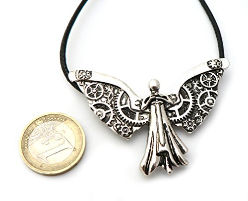 Collier Ange Argenté - The Mortal Instruments