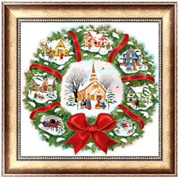 Xmas Full Drill 5D Diamond Painting Embroidery Cross Stitch Christmas DIY Kits