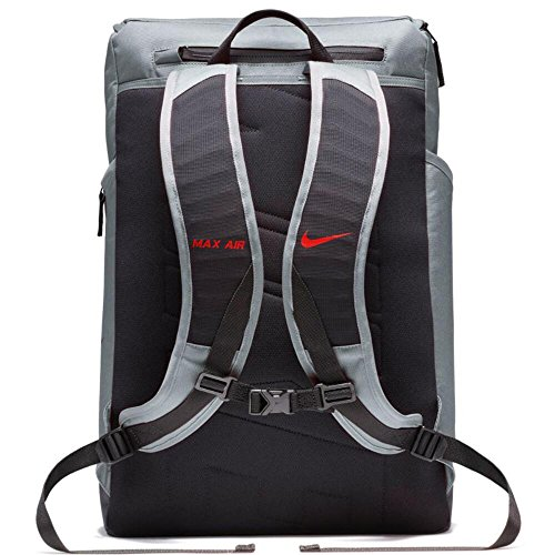 Nike LeBron Max Air Ambassador Backpack Cool Grey/Black by NIKE (Image #1)