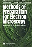 img - for Methods of Preparation for Electron Microscopy: An Introduction for the Biomedical Sciences by David G. Robinson (1987-07-27) book / textbook / text book