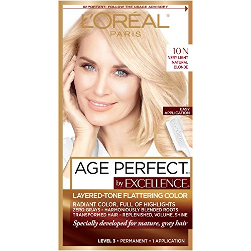 L'Oreal Paris ExcellenceAge Perfect Layered Tone Flattering for sale  Delivered anywhere in USA
