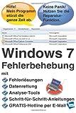 Windows 7 Fehlerbehebung, Reiner Backer, 1492226629