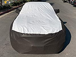 Tuxcover Custom Fit 2015-2019 Ford Mustang Car Cover All Weatherproof Multi Tyvek Covers