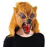Tigerdoe Wolf Mask - Scary Mask - Halloween Mask - Werewolf Mask - Spooky Masks – Animal Masks - Latex Masks