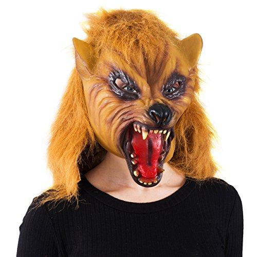 Tigerdoe Wolf Mask - Scary Mask - Halloween