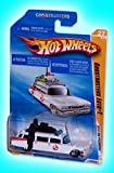 Ghostbusters Ecto-1 1959 Cadillac Hot Wheels Car (2010 HW Premiere)