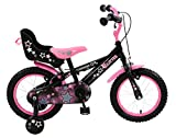 Townsend Girl Glitter Bike, Pink/Black, 14-Inch