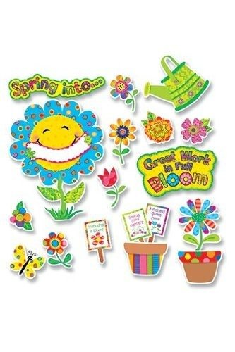 Creative Teaching Press Bulletin Board, Spring Garden (4726)