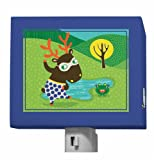 Oopsy Daisy Funky Woodland Creatures Night Light, Boy, 5