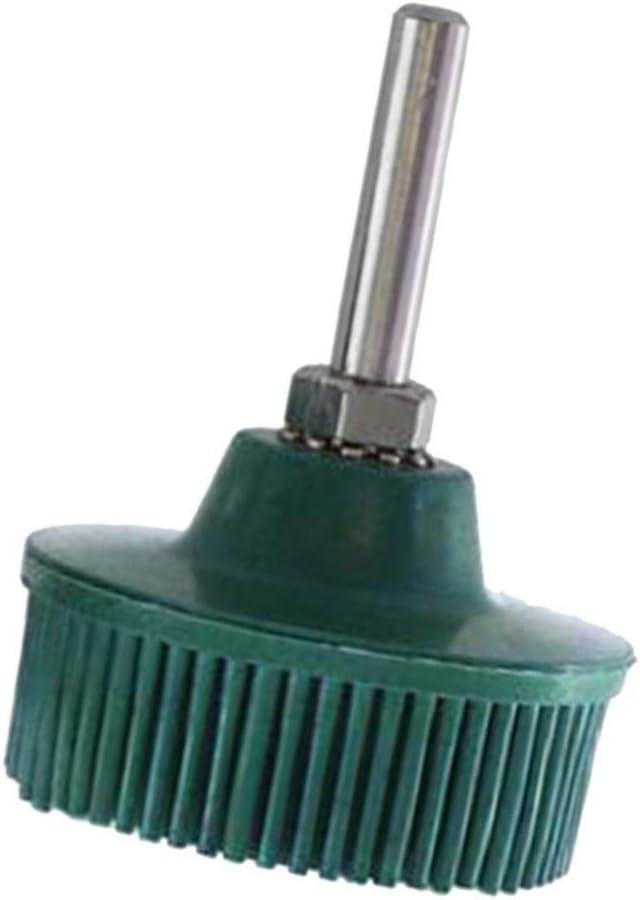 prasku 3x 1//4 `` Tige Conique Disque Perceuse Brosse Attachement Outils de Polissage En M/étal