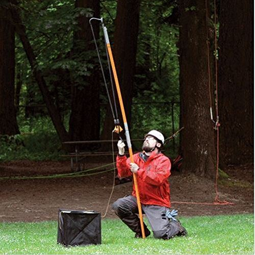 NEW JAMESON BIGSHOT SLING SHOT THROWLINE LAUNCHER ARBORIST TWO 4' POLES ARBORIST