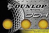DUNLOP Golf Balls, Small, Yellow
