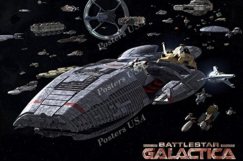 Posters USA - Battlestar Galactica TV Series Show Poster GLOSSY FINISH - TVS035 (24
