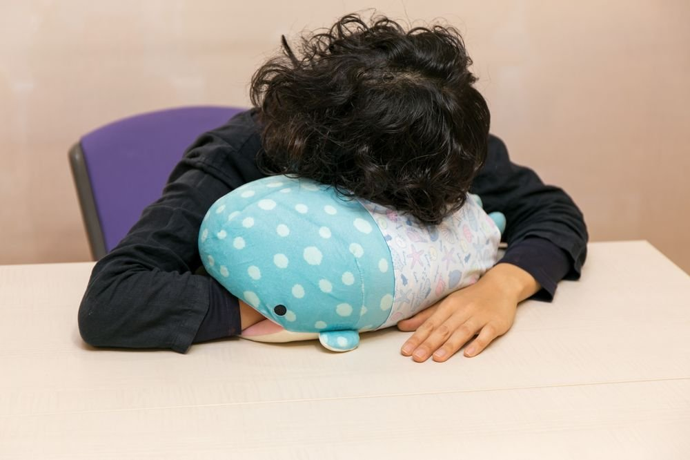 Jinbesan Super Mochi Mochi Hugging Pillow by San-X (Image #5)