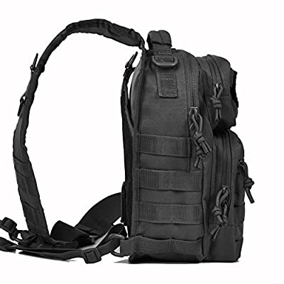 Eyourlife Small Bag Sports Outdoor Shoulder Pack Military Shoulder Backpack for Outdoor Camping