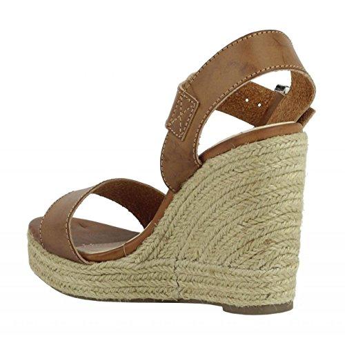 Chaussures compensées pour Femme REFRESH 61772 C CAMEL