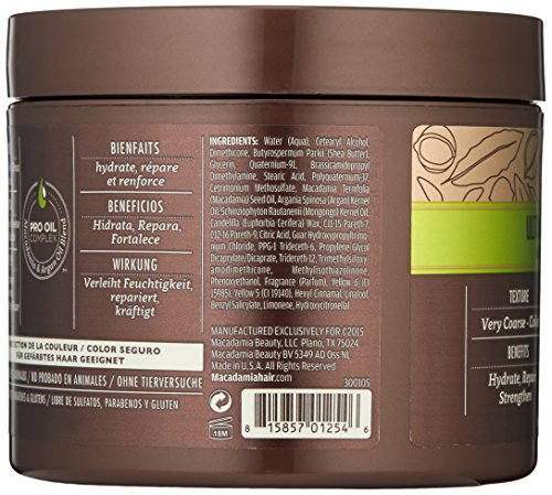 Macadamia Hair Ultra Rich Moisture Masque - 8 oz by Macadamia Professional (Image #3)
