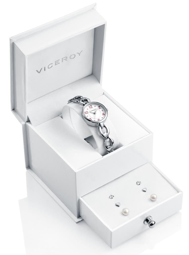 WATCH VICEROY 40946-05 BOY + PENDIENTES