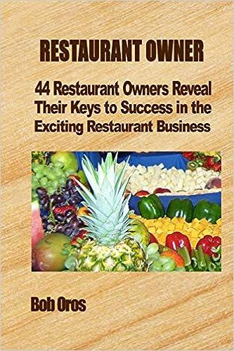 Restaurant Owner 44 Restaurant Owners Reveal Their Keys To