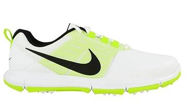 b6a3bb94328 Nike Explorer SL Spikeless Golf Shoes 2017 Dark Gray White Volt Medium 7