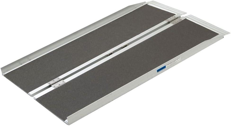 Silver Spring Aluminum Folding Wheelchair Ramp Plus 4' x 29