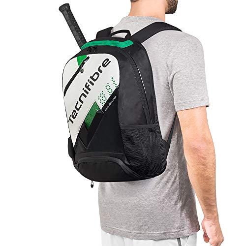 Mochila Tecnifibre Squash Absolute 2018 Preta Branca e Verde