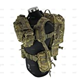 Tactical Military Bag Mountaineering Hiking Outdoor Combination Bag,Day BackPack